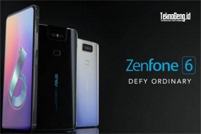 Harga dan Spesifikasi Lengkap ASUS ZenFone 6 Terbaru