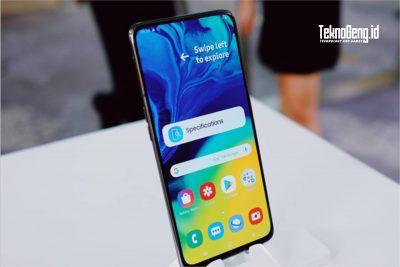 Samsung Galaxy A80, HP Unik dengan Kamera Berputar