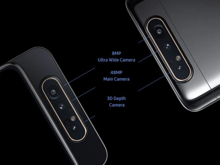 Pop-up Rotating Camera Samsung Galaxy A80