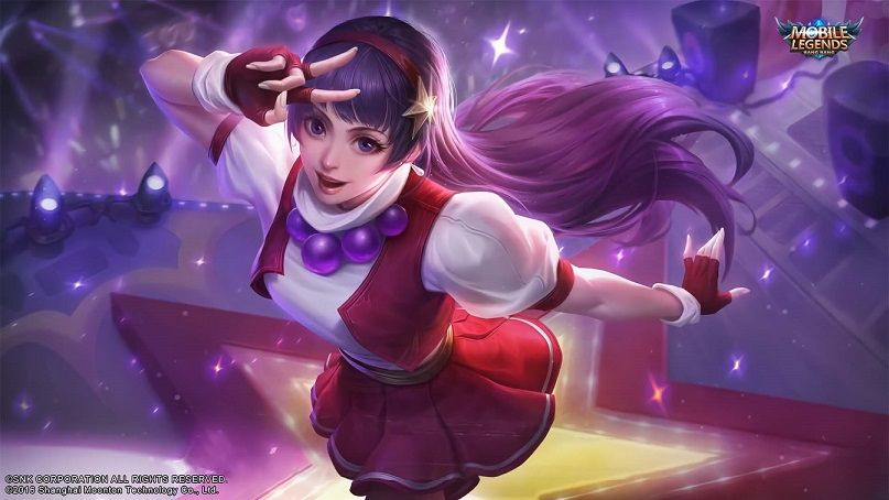 Guinevere Mobile Legends Athena Asamiya