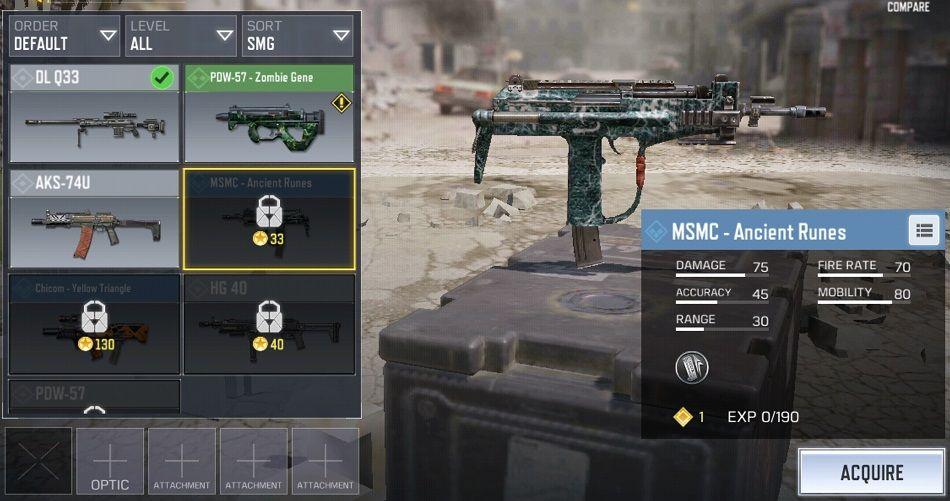 MSMC CoD Mobile