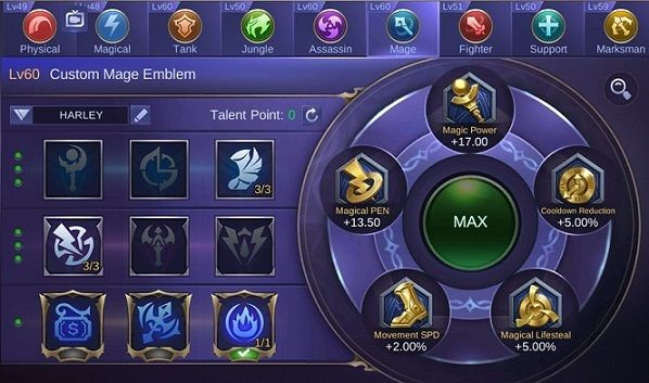 Emblem Harith Mobile Legends