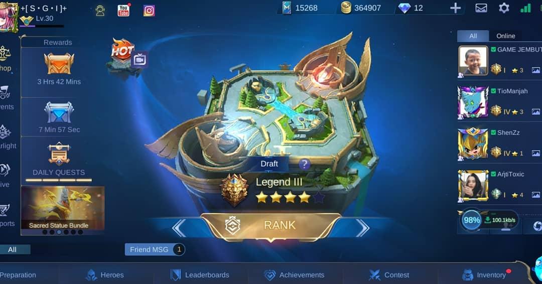 Update Mobile Legends Terbaru Patch 1.4.24