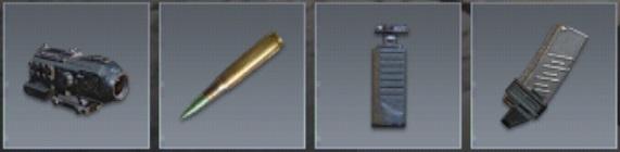 Attachment AK47 COD Mobile