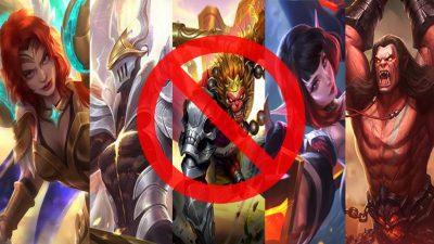 10 Hero Mobile Legends Tidak Berguna Lagi di Push Rank Season 14