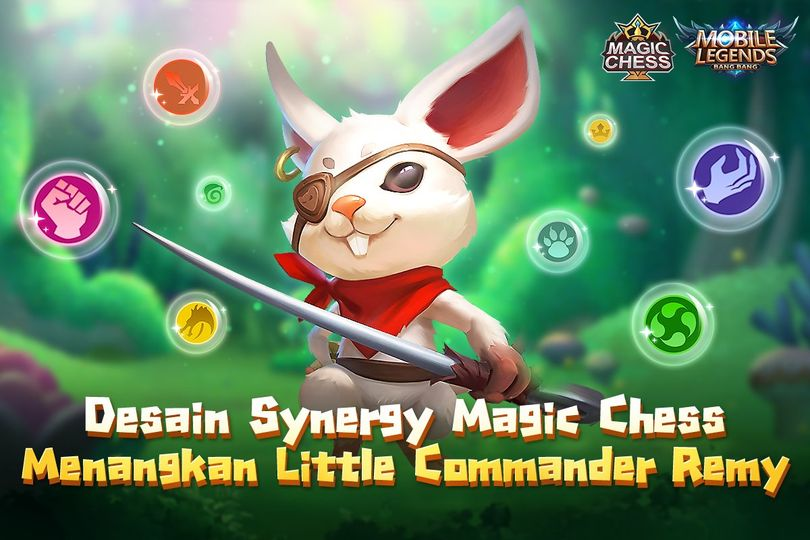 Skill Commander Remy Magic Chess Mobile Legends