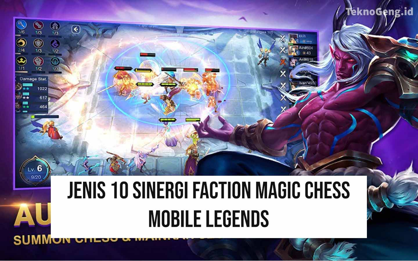 10 Sinergi Magic Chess Mobile Legends: Faction [UPDATE]