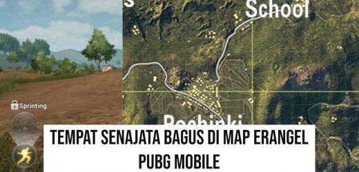6 Tempat Senjata Bagus di PUBG Mobile