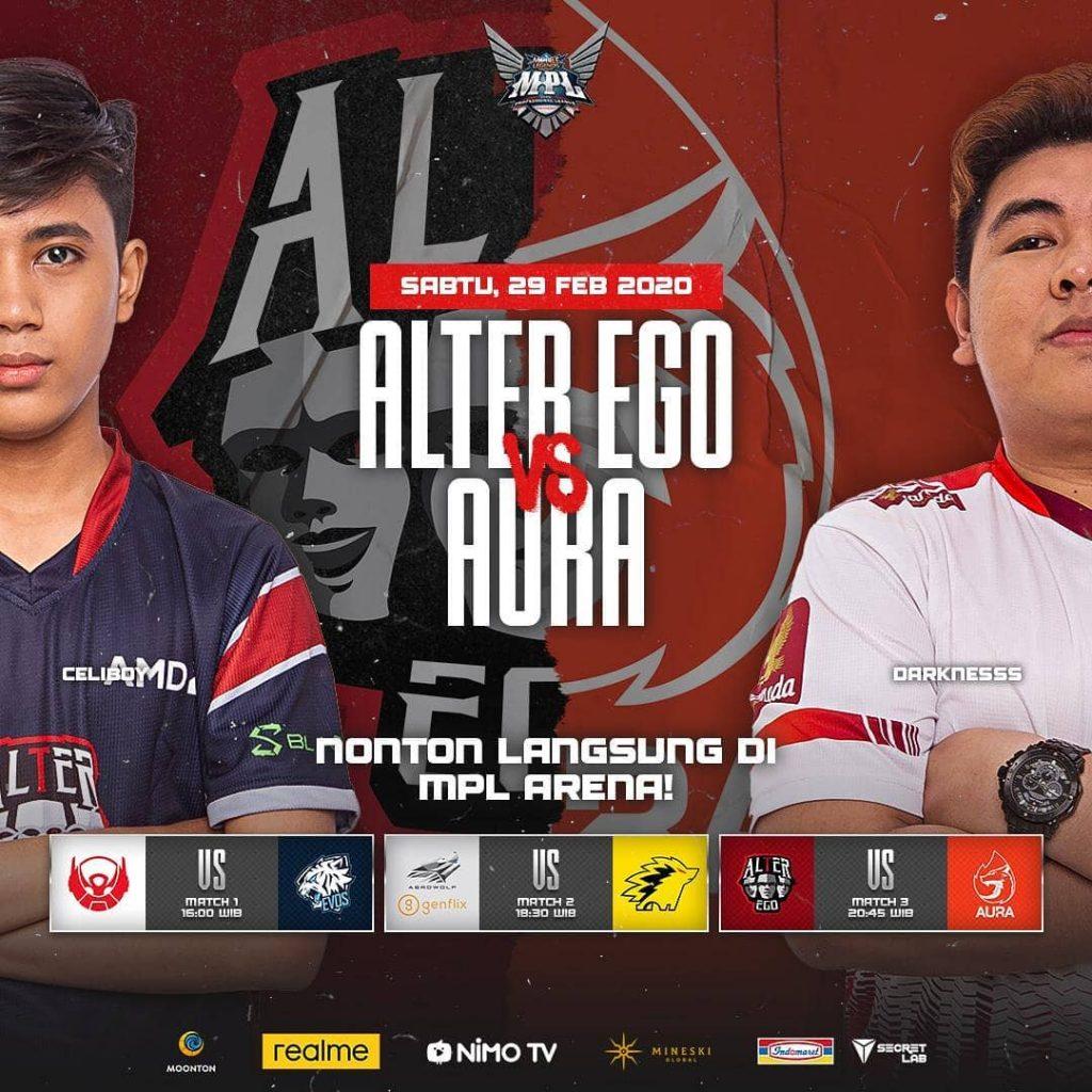 Alter Ego vs AURA Esports MPL S5