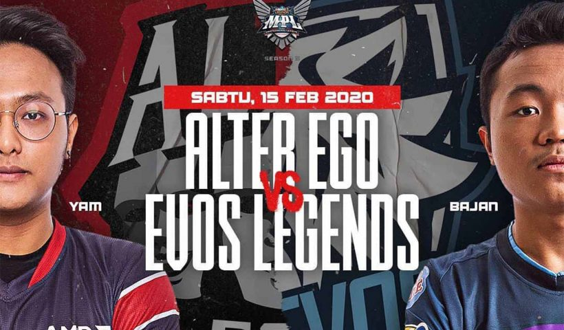Alter Ego vs EVOS MPL Season 5
