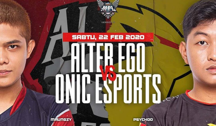 Alter Ego vs ONIC MPL Season 5