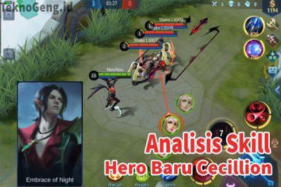 Analisis Skill Hero Baru Cecillion Mobile Legends