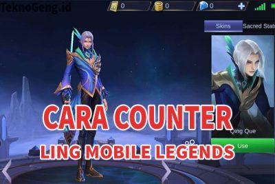 Cara Mudah Counter Ling Mobile Legends