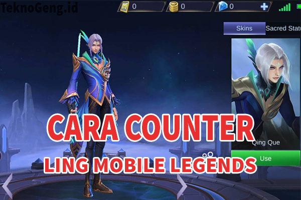 Counter Ling Mobile Legends