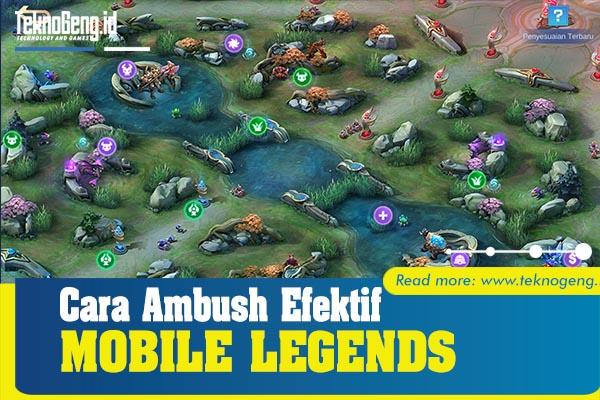 cara menyergap lawan di mobile legends