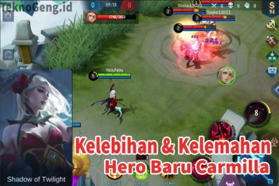 Kelebihan & Kelemahan Hero Carmilla Mobile Legends