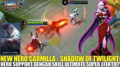 Hero Kombo Terbaik Carmilla Mobile Legends