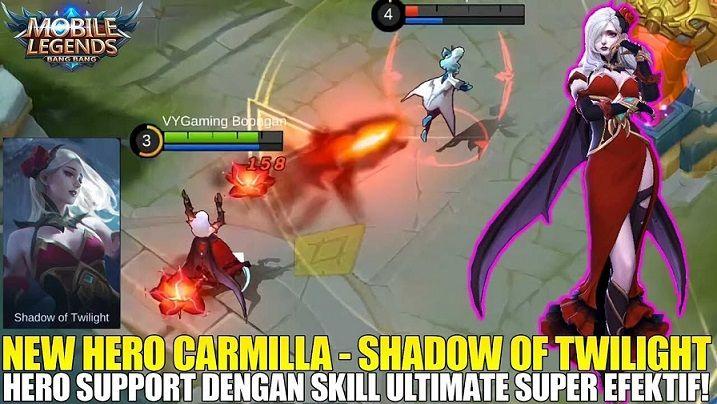 Hero Kombo Terbaik Carmilla Mobile Legends