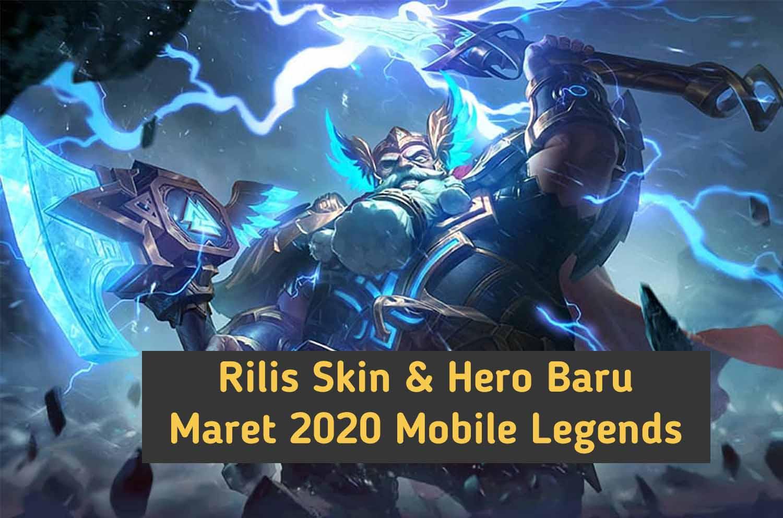 Sssssst Ada Yang Baru Rilis Skin Dan Hero Baru Mobile