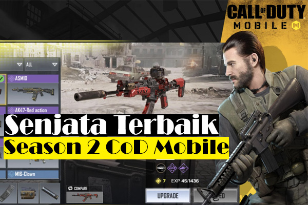 11 Senjata Terbaik COD Mobile Season 2