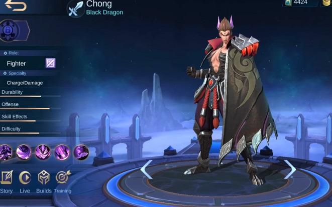 Statistik Hero Baru Chong